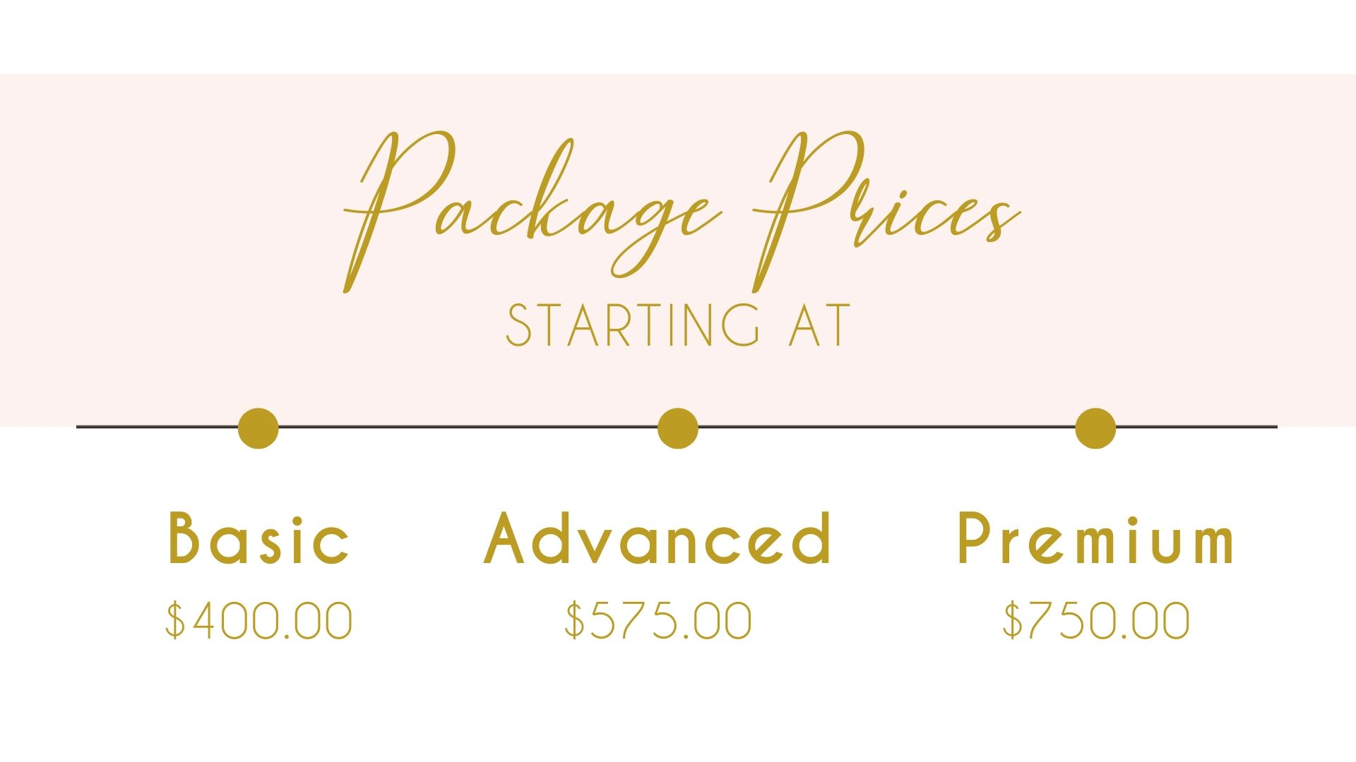 My package prices slide 2